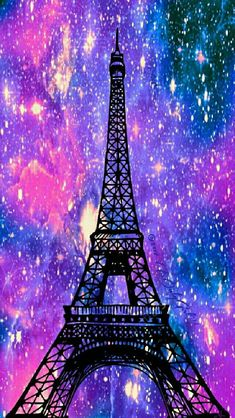 Eiffel Tower galaxy iPhone/Android wallpaper I created for the app CocoPPa! Paris Wallpaper, Music Wallpaper, Trendy Wallpaper, Cute Wallpaper Backgrounds, Wallpaper Iphone Cute, Pretty Wallpapers, Screen Wallpaper, Cool Wallpaper, Galaxy Painting