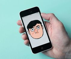 Jean Jullien's online portfolio: Clock Face