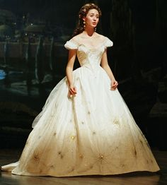 "One of the prettiest dresses I have ever seen.  Christine Dae from the movie ""The Phantom of the Opera""."