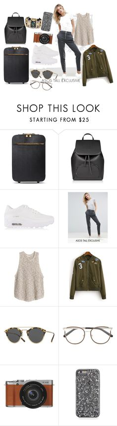 """""""Coming back to New York"""" by design360 ❤ liked on Polyvore featuring STELLA McCARTNEY, NIKE, ASOS, Oliver Peoples, Chloé, Fujifilm and Nocturne"""
