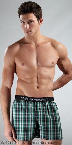 American Idle: Rob Wilson Models Emporio Armani For Mens Underwear Store!