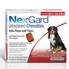 9 Best Nexgard Single Chewable For Dogs Images Flea