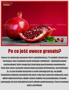 Granat i zdrowie