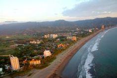 Beautiful Jaco Beach from the sky-Jaco, North Puntarenas    www.car-booker.com  #carhire #carrental