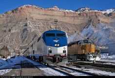 RailPictures.Net Photo: AMTK 72 Amtrak GE P42DC at Helper, Utah by James Belmont