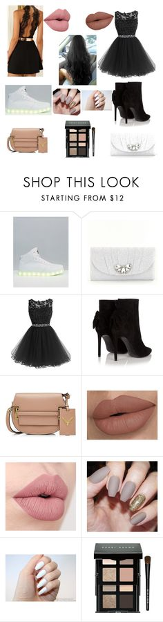 """""""Me and bestie at Homecoming"""" by liyahbear753 ❤ liked on Polyvore featuring Wize & Ope, Kate Landry, Yves Saint Laurent, Valentino and Bobbi Brown Cosmetics"""