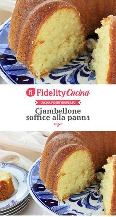 Torte Cake, Chiffon Cake, Finger Foods, Cornbread, Vanilla Cake, Italian Recipes, Sweet Recipes, Donuts, Muffins