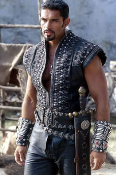 The late great New Zealand actor Kevin Tod Smith as Ares, God of War --- Hercules, The Legendary Journeys and Xena Warrior Princess