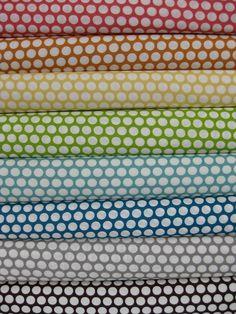 Jay-Cyn Designs for Birch Fabrics, Mod Basics, Dottie Cream V.2 in FAT QUARTERS 8 Total
