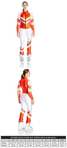 Other Downhill Skiing 1302: Spyder Performance Gs Ski Racing Suit – Women'S X-Large Volcano Lindsey Vonn -> BUY IT NOW ONLY: $349.95 on eBay!