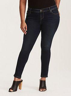 ccf7ba9b8ed Torrid Luxe Skinny Jeans - Dark Wash