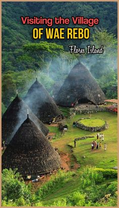Nestled in the highlands, Wae Rebo is one of the highlights of Flores, Indonesia. Picturesque and beautiful.