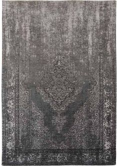 'Fading World Generation' rug by Louis de Poortere, in grey.  140x200 - £310 170x240 - £445 (whole living room floor)  From Modern-Rugs.co.uk