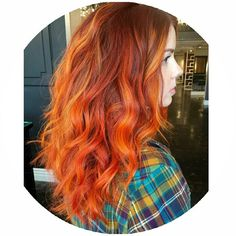 """@am_instahair seriously has the best hair ever. Any color would look good on it. so it definitely made my job easier. #copper #copperhair #redhead…"""