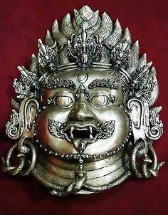 Bhairav Head, Wall hanging,hand made