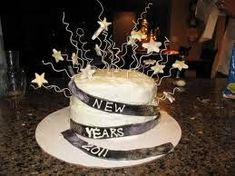 new years cake new year table cream cheese frosting cake with cream cheese