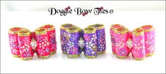 Floral Beauties by Doggie Bow Ties Dog Bows