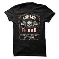 Limited Edition ASHLEY blood Shirt T Shirts, Hoodies. Check price ==► https://www.sunfrog.com/Names/Limited-Edition-ASHLEY-blood-Shirt.html?41382 $22