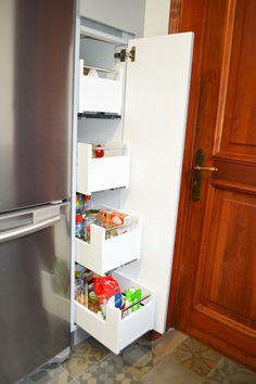 Ideas Despensa, Top Freezer Refrigerator, Chile, Kitchen Appliances, Templates, Kitchen Furniture, Kitchens, Pantries, Smoke