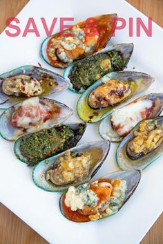 Mussels served 5 Ways -Pesto, Garlic, Italiano, Buffalo…