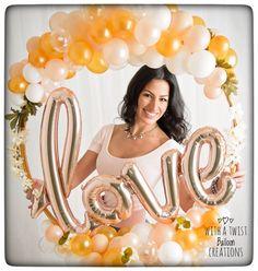 Organic Love Balloon Hoop Frame