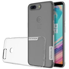 Oneplus 5T Case NILLKIN Luxury Ultra Thin Transparent Case For One Plus 5T Soft Silicone TPU Phone Back Cover For Oneplus 5T