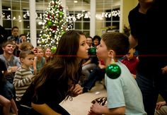 "A Not-So-Silent Night ""Minute to Win it"" games to play on xmas eve. Exactly why I want a big family and a big house!!! Looks so much fun!"