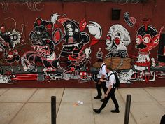 brooklyn street art_Sheryo and The Yok, Pipe Dreams and Road Trips