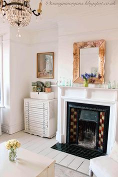 The Villa on Mount Pleasant: What A Difference A Year Makes.../ Inspiring one year transformation.  Charming, chic cottage styling.