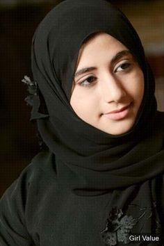Beauty of Black Hijab