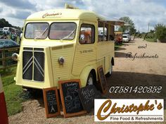 Coffee van conversion, Citroen HY van conversion, mobile coffee