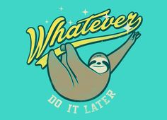"""Whatever"" - Threadless.com - Best t-shirts in the world"