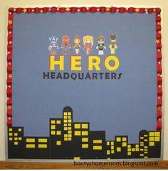 superhero classroom ideas   Here's
