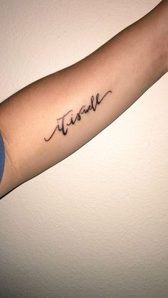 """My first tattoo! """"it is well"""""""