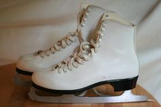 I had my very own pair of white ice skates that I LOVED.