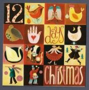 Five Golden Rings, 12 Days Of Xmas, Seven Swans, Hens, Snowflakes, Snow Flakes