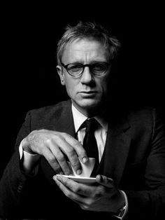 Daniel Craig enjoys sipping on a fine cup of Earl Grey