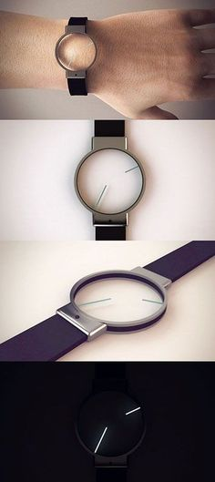 The title minimal really suits this concept design that an unknown designer by the name of Roderick (from Malta) submitted to Tokyoflash. gift for modern men/man.