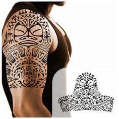 Family protector halfsleeve tattoo