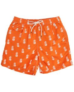 Maillot de Bain Ananas Orange POLO Ralph Lauren