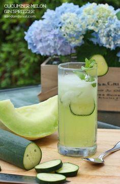 Cucumber Melon Gin Spritzer | Sand  Sisal