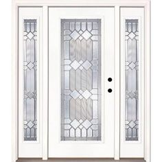 prehung front door with sidelites - Google Search