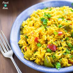 Nando's Spicy Rice – Pinch Of Nom My favourite rice has to be Nando's Spicy rice, so we decided to come up with a Syn Free Slimming World Nando's Spicy Rice recipe! Spicy Rice Recipe, Rice Recipes, Cooking Recipes, Healthy Recipes, Recipies, Cooking Tips, Cooking Videos, Healthy Dinners, Pasta Recipes