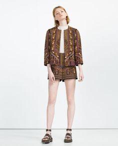 Image 1 de VESTE BRODÉE de Zara