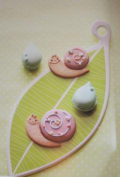 Snail Macaron