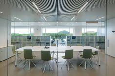 Industrie-Palast - Forschungsgebäude von Atelier Kempe Thill