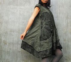 Sun and Rain pleated dress  Size XL (1404) And custom order size and color