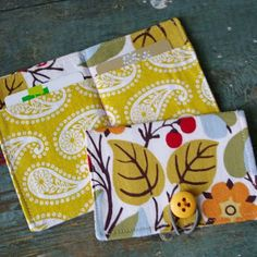 These would be cute to give as gifts and should be an east sewing project.