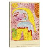 Found it at AllModern - 'Magdalena Before the Conversion' by Paul Klee Painting Print on Canvas