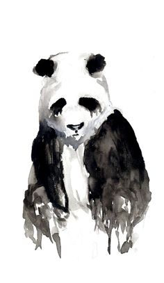 I really want a tattoo like this, not a panda though.